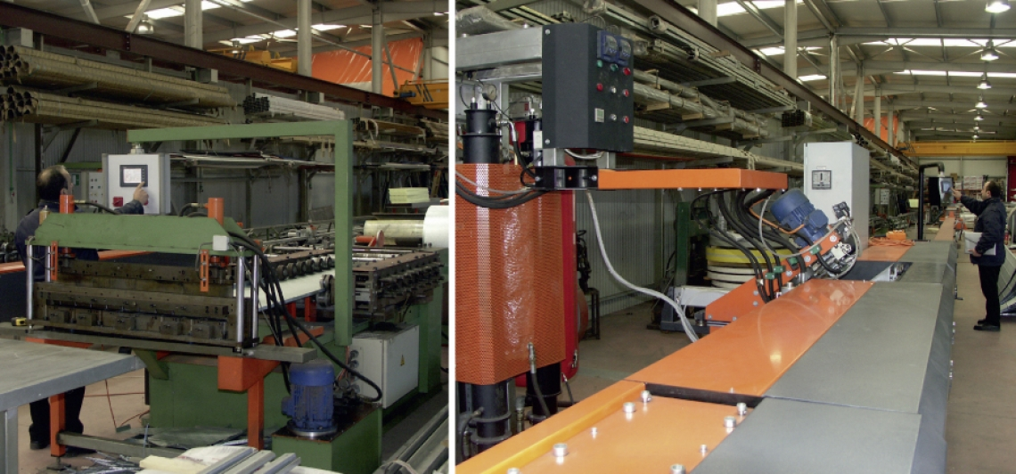 STEEL PROFILE FORMING MACHINES