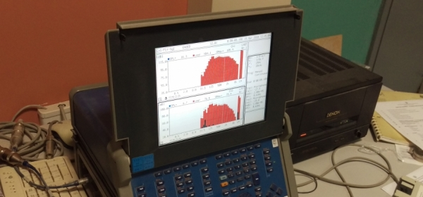 Μέτρηση ηχητικής διαπερατότητας προφίλ ρολών