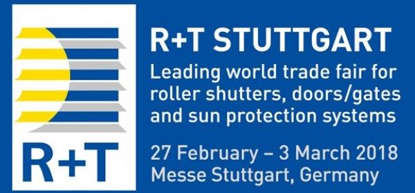 Συμμετοχή στη διεθνή έκθεση R+T στη Στουτγκάρδη